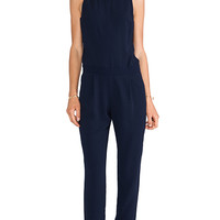 Trina Turk Yasmine Jumpsuit in Navy