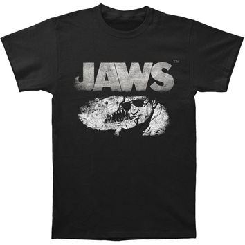 Jaws Men's  Sheriff Slim Fit T-shirt Black