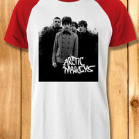 Arctic monkeys personel Baseball Tees-11n Unisex Raglan Tees For Man And Woman / T-Shirts / Custom T-Shirts / Tee / T-Shirt