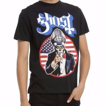 Ghost PAPA EMERITUS WANTS YOU T-Shirt NEW Heavy Metal Band Authentic & Official