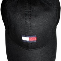 Men's Tommy Hilfiger Hat Ball Cap Black