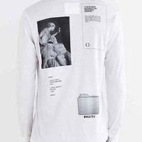 Youth Machine Internet Dreams Long-Sleeve Tee- White