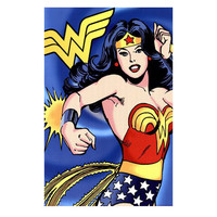 Wonder Woman Comic Book Wall Poster