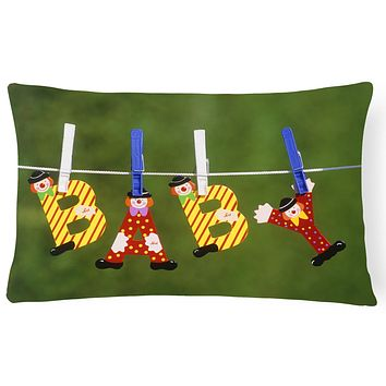 New Baby Clown Clothesline Fabric Decorative Pillow APH5091PW1216