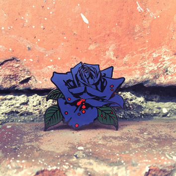 Black Rose: A Rock Legend - Thin Lizzy Hard Enamel Pin