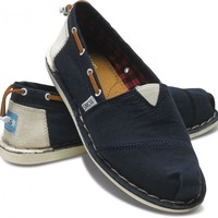 Toms Shoes Stitchouts (Navy) Shoes Womens Shoes at 7TWENTY Boardshop, Inc