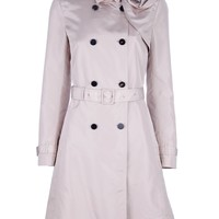 Valentino Shoulder Detail Trench Coat - Ottodisanpietro - Farfetch.com