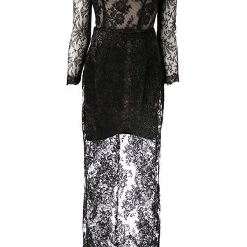 Alessandra Rich lace dress