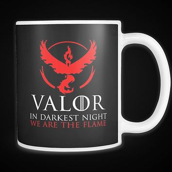 Pokemon valor in darkness knight we are the flame 11oz Coffee Mug- TL00627M1
