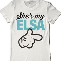 White T-Shirt | Cute Frozen Disney Shirts