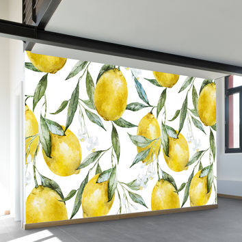 Life of Lemons Wall Mural