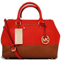 MICHAEL Michael Kors Sutton Color Block Satchel