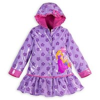 Disney Store Rapunzel Tangled Rain Jacket for Girls Toddlers Coat