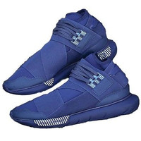 Mens Sneakers 9.5 Adidas Yohji Yamamoto Blue High Top Athletic Footwear