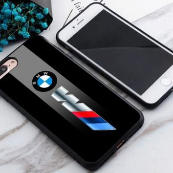Top Luxury Car BMW M3 Logo Print On Hard Plastic Cover Skin Case For iPhone