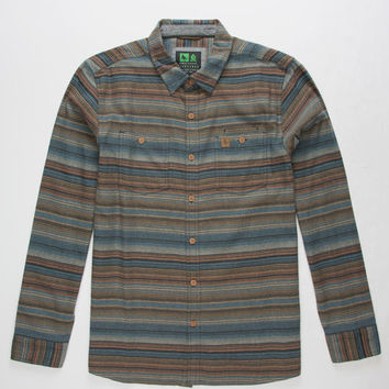HIPPYTREE Escondido Mens Flannel Shirt