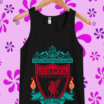 You'll Never Walk Alone Liverpool Tanktop, Tanktop Men, Tanktop Women, Tanktop Girl, Men Tanktop, Girl Tanktop