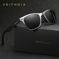 VEITHDIA Aluminum Men's Polarized Mirror Sun Glasses Driving Fishing Outdoor Eyewears Sunglasses men 2140