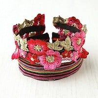 Floral Bun Band at Free People Clothing Boutique