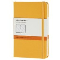 Moleskine Classic Notebook, Pocket, Ruled, Orange Yellow, Hard Cover (3.5 x 5.5) (Classic Notebooks)