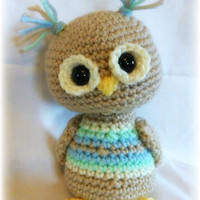 Scrappy Owls Crochet pattern