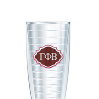 Gamma Phi Beta Tumbler -- Customize with your monogram or name!