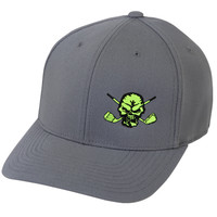Lucky 13 Skull Golf Hat (Grey)