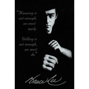 Bruce Lee Knowing