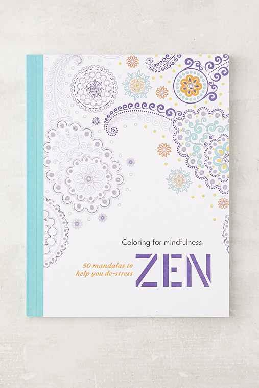 Coloring For Mindfulness Zen 50 Mandalas From Urban