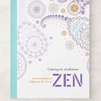 Coloring For Mindfulness Zen: 50 Mandalas To Help You De-Stress By Hamlyn