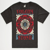 Volcom Marble Boys T-Shirt Charcoal  In Sizes