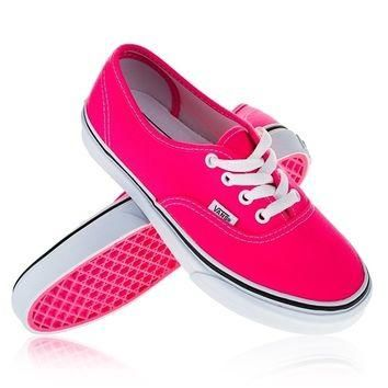 Vans Neon Pink Sneakers- Found on Bib + Tuck