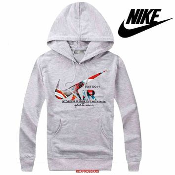 Nike Women Men Casual Long Sleeve Top Sweater Hoodie Pullover Sweatshirt-20