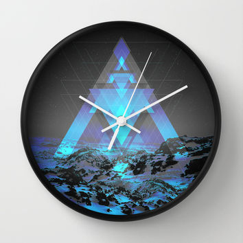 Neither Real Nor Imaginary Wall Clock by Soaring Anchor Designs