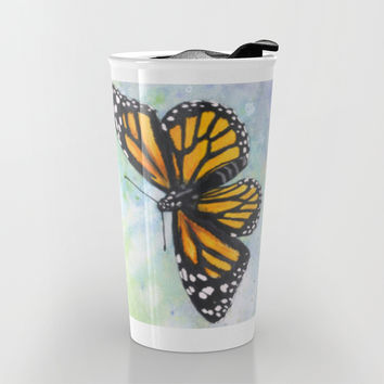 Monarch Butterfly Travel Mug by Savousepate