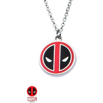 The Marvel Deadpool Necklace - Chrome