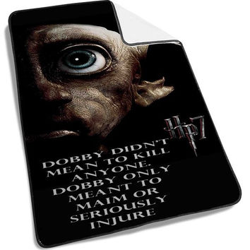 Harry Potter and the deathly hallows dobby Blanket