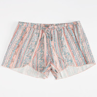 O'neill Printed Girls Shorts Multi  In Sizes