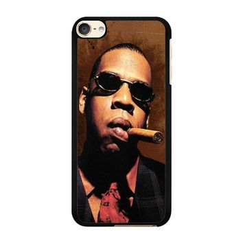 Jay-Z Cigar Glasses Tie Vest 01  iPod Touch 6 Case