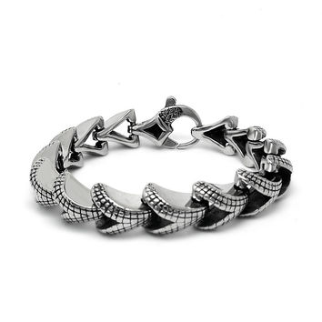 Shiny New Arrival Hot Sale Gift Great Deal Awesome Strong Character Stylish Accessory Korean Titanium Men Birthday Gifts Bracelet [6526720323]