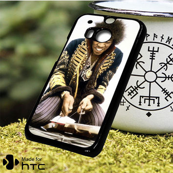 Jimi Hendrix Music HTC One M7, One M8, One M9, One M9 Plus, One M10 Case