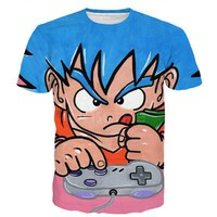 Dragon Ball Z Super Saiyan Graphic 3D Shirt Version 5