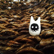 Ghost Tieke - Polymer Clay Animal Totem