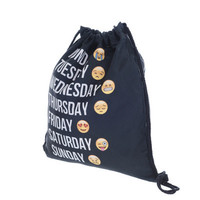 Back To School Stylish Hot Deal College Casual On Sale Comfort With Pocket Folded Bags Emoji Backpack [8382545927]