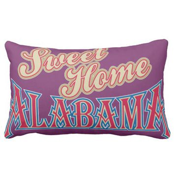 Alabama Home Lumbar Pillow