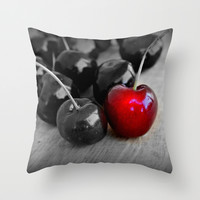 Summer Fruit Throw Pillow by Clare Bevan Photography