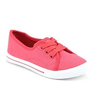 Girls Adore-32K Casual Low Rise Canvas Fashion Sneaker Shoes