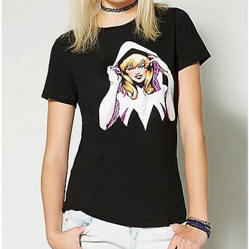 Spider-Gwen Crew T Shirt - Marvel Comics - Spencer's
