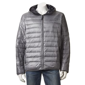 Chaps Packable Reversible Down Puffer Jacket