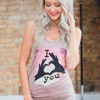 Our Story in Shadows Tank Mocha
